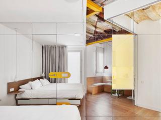 Miel Arquitectos Dormitorios de estilo moderno