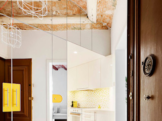 Miel Arquitectos Pasillos, vestíbulos y escaleras modernos
