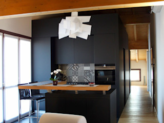 SuMisura Modern Mutfak Ahşap Siyah