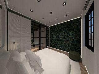 Spijker Design Studio Modern Bedroom