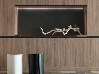 悠.繞  Leisure.Round 理絲室內設計有限公司 Ris Interior Design Co., Ltd. 走廊 & 玄關