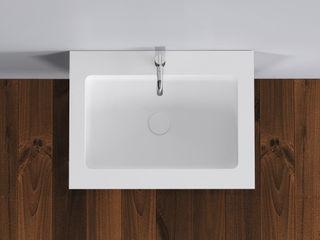 Copenhagen Bath - Tischplatten Copenhagen Bath BadezimmerWaschbecken Weiß