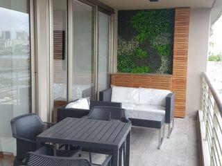 MONARQ ESTUDIO Balcony Wood Wood effect