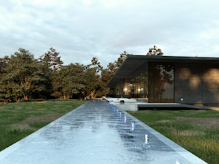 TW/A Architectural Group Basen Beton Szary