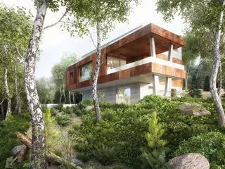 Haus E Fiedler + Partner Einfamilienhaus Beton