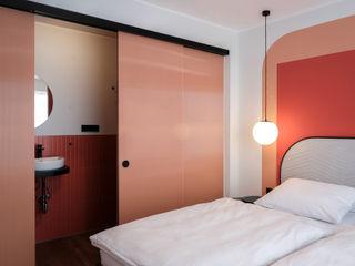 LOVA Modern hotels Glass Orange