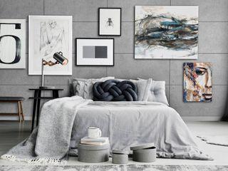 Loft Design System Deutschland - Wandpaneele aus Bayern Modern Bedroom Grey