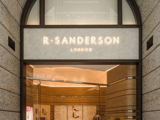 充滿英倫情人風的頂級品牌女鞋店 On Designlab.ltd 辦公空間與店舖