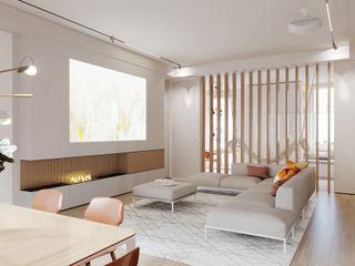 Suiten7 Salas de estilo industrial Cobre/Bronce/Latón Blanco