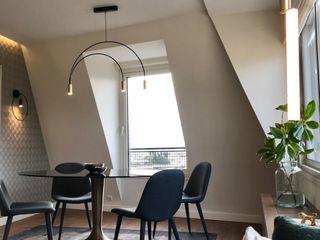 Appartement À Trocadero Lichelle Silvestry Salle à manger moderne