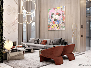 Diff.Studio Minimalist living room