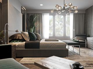 Diff.Studio Eclectic style bedroom