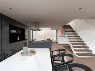 TW/A Architectural Group Zieleń wewnątrz Marmur Biały