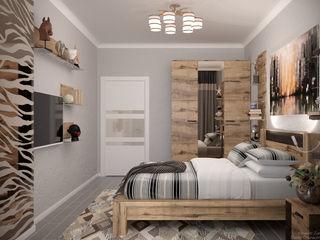 Студия интерьерного дизайна happy.design Tropical style bedroom
