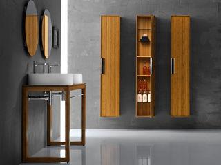 Lineabeta BathroomShelves Bamboo Wood effect