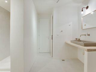 Betonoptik BETON2 Moderne Badezimmer Beton Weiß