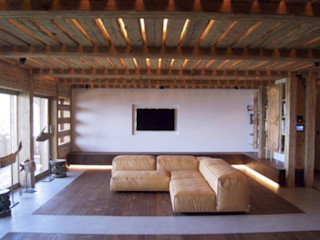 Beton & Holz BETON2 Landhaus Beton Grau