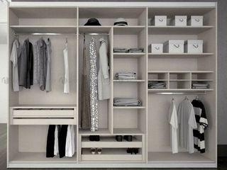 Decordesign Interiores ВбиральняГардероби та висувні ящики MDF Білий