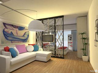Arquimundo 3g - Diseño de Interiores - Ciudad de Buenos Aires Salon moderne