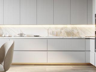 Suiten7 Klasik Mutfak Bakır/Bronz/Pirinç Gri
