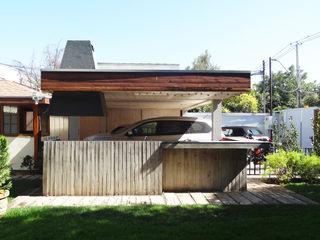 m2 estudio arquitectos - Santiago Casas de estilo mediterráneo