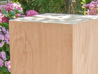 sokkel en zuilen Salas/RecibidoresAccesorios y decoración Madera Acabado en madera