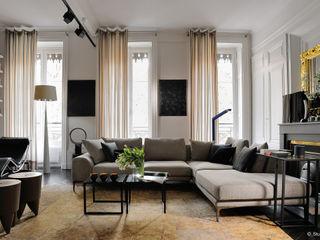 Franck VADOT Architecture ВітальняСтолики та лотки