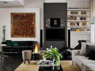 Franck VADOT Architecture ВітальняПідставки для телевізорів та шафи