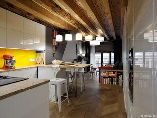 Franck VADOT Architecture Вбудовані кухні