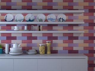 CERAMICHE MUSA Nowoczesna kuchnia Ceramiczny