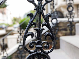 Metal Railings for London Home British Spirals & Castings Classic style houses