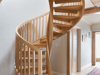 Twisted Column Spiral Staircase British Spirals & Castings Stairs