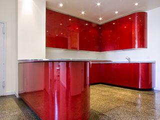 Muebles de Cocina - Passion Corporación Siprisma S.A.C CocinaEstanterías y gavetas Rojo