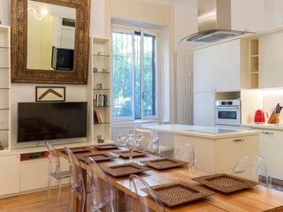 Fabio Carria Asian style kitchen Wood White