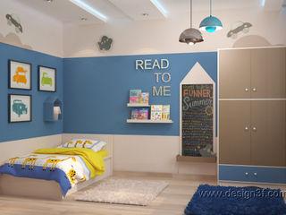 студия Design3F Chambre d'enfant originale Bleu