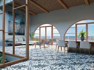 CASA LA CIMA HAC Arquitectura Salones modernos