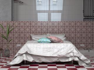 CERAMICHE MUSA Nowoczesna sypialnia Ceramiczny