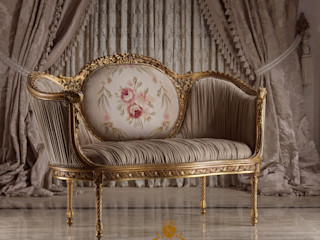 NADIA .Gallery HouseholdTextiles خشب Amber/Gold
