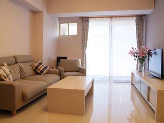 勻境設計 Unispace Designs Living room Purple/Violet