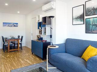 Estudi Aura, decoradores y diseñadores de interiores en Barcelona Modern dining room Wood White