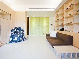直方設計有限公司 Pareti & Pavimenti in stile scandinavo Verde