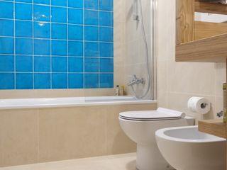 Daniele Arcomano Modern bathroom Ceramic Turquoise