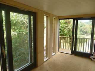 Garden Room - Truro Building With Frames Modern Houses Wood