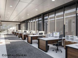 Uffici Rigamonti Denis Confalonieri - Interiors & Architecture Complesso d'uffici moderni