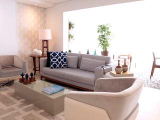 Haus Brasil Arquitetura e Interiores Modern living room
