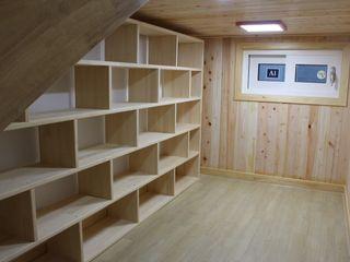 나무집협동조합 Oficinas de estilo moderno