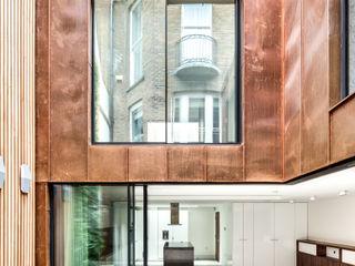 Welbeck Street IQ Glass UK Rumah keluarga besar Perunggu Brown