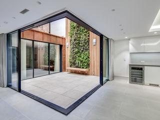 Welbeck Street IQ Glass UK pintu kaca Aluminium/Seng Transparent