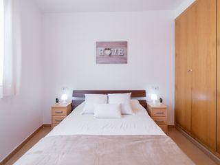 Home Staging Tarragona - Deco Interior Industrial style bedroom