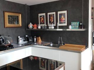 SteellArt Modern style kitchen Iron/Steel Metallic/Silver
